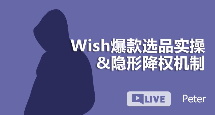 Wish爆款选品实操+隐形降权机制