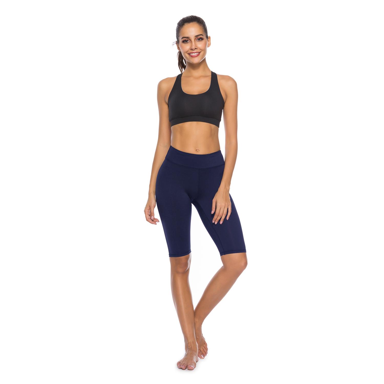 6f54c8bdc1 Women s High Waist Capri Workout Yoga Pants Running Tights Active Leggings  w Side Pocket