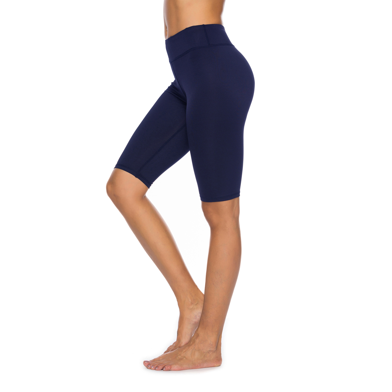 ce8f7ad5f4132 Women's High Waist Capri Workout Yoga Pants Running Tights Active Leggings  w Side Pocket5/5