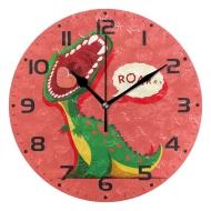 家居两用装饰时钟,定制油画质感