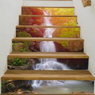 3D圖案樓梯貼,可DIY定制