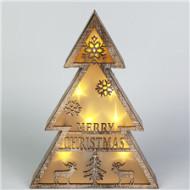 纯木自然,贴合圣诞元素灯饰