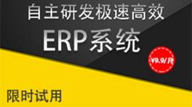 极速高效ERP系统