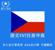 捷克vat注册申报,包含税号注册和一年申报
