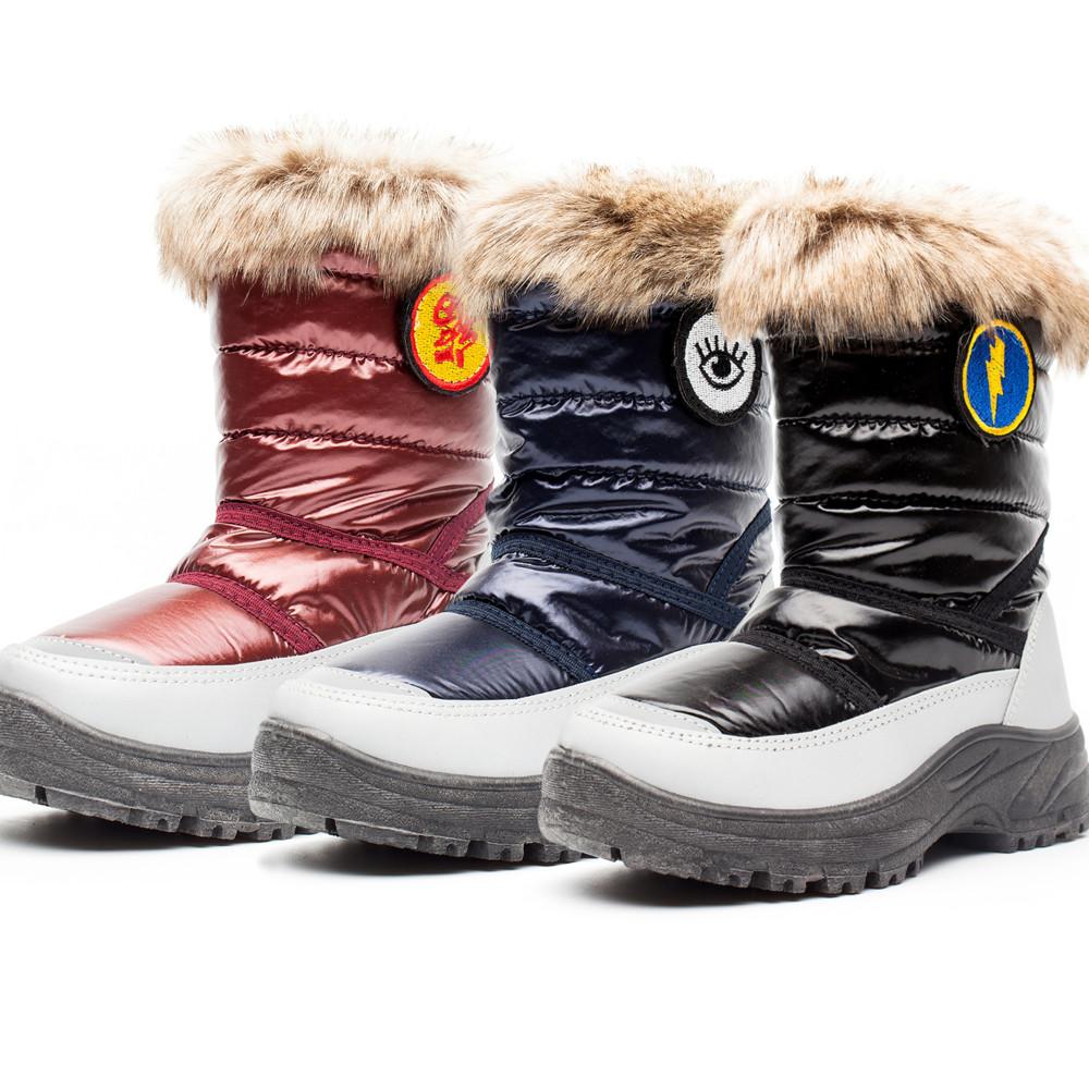 童雪地靴冬男_2019新款冬款加棉保暖舒适防滑男女童雪地靴-CCEE