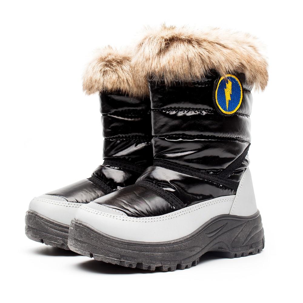 童雪地靴冬男_[童鞋]2019新款冬款加棉保暖舒适防滑男女童雪地靴外贸厂家货源