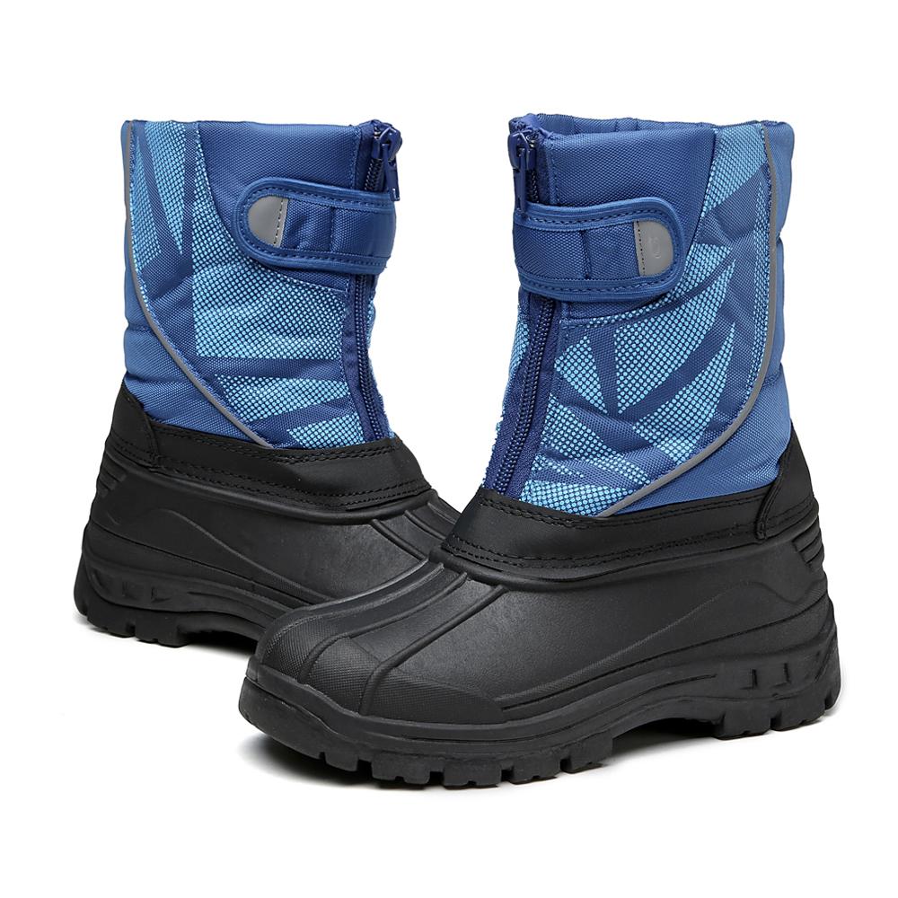 童雪地靴冬男_[童鞋]2019新款冬款加棉防滑舒适男女童雪地靴外贸厂家货源