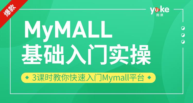 MyMALL基础入门实操