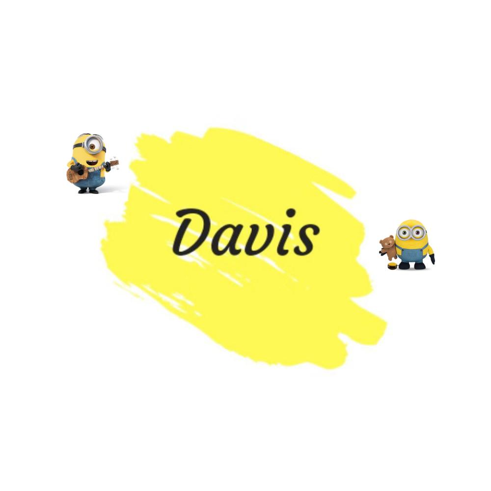 小黃人Davis