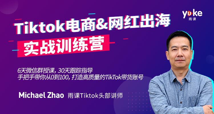 TikTok电商&网红出海实战特训营