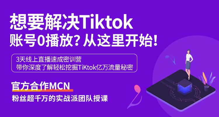 TikTok硬核密训 带你轻松挖掘海外抖音亿万流量池!