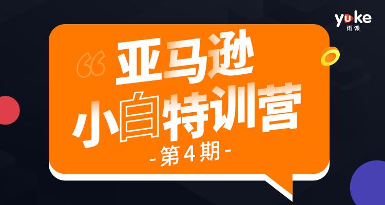【已完结】亚马逊小白特训营第4期