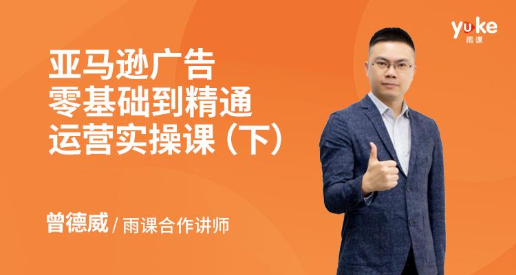 亚马逊广告零基础到精通运营实操课(下)