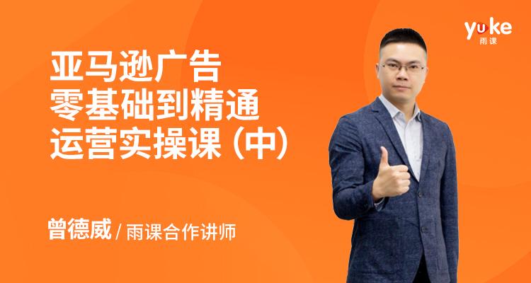 亚马逊广告零基础到精通运营实操课(中)