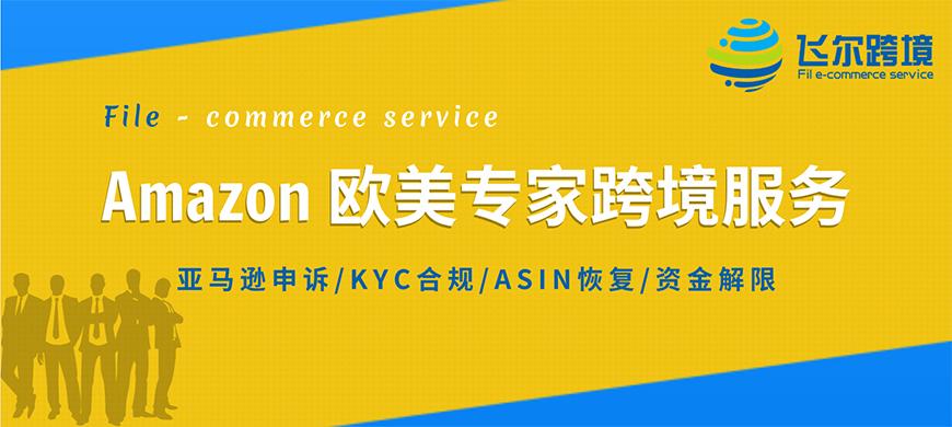 Amazon欧美专家跨境服务:亚马逊申诉、KYC合规、ASIN恢复、资金解限