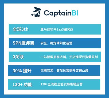 船长BI(Captain BI)亚马逊运营综合软件工具基础版