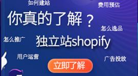 独立站首选建站工具shopify