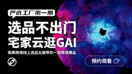 雨果跨境好物选品直播—严选工厂(第一期)