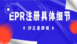 亚马逊德国站法国站卖家注意!EPR延伸生产者责任号注册相关细节